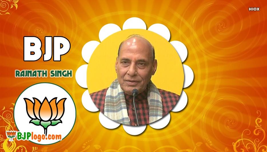 Bjp Logo Rajnath Singh