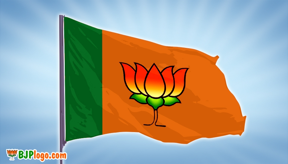 Bjp Flag Logo @ BJPLogo.com