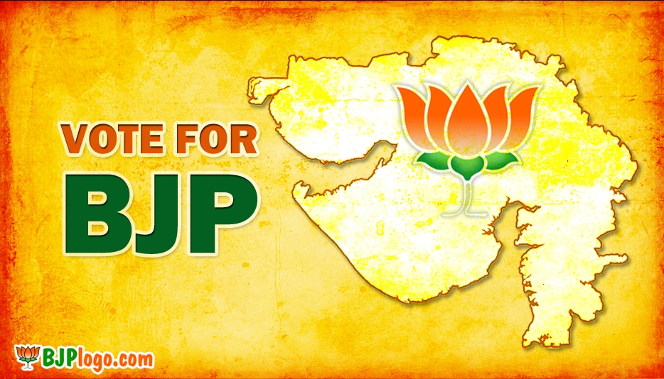 BJP Gujarat Logo - Bjp Logo Vote for BJP