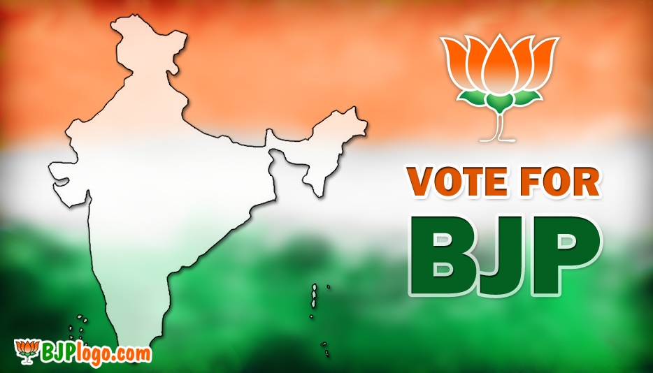 BJP India Logo - Bjp Logo Vote for BJP