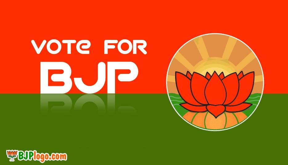 BJP Logo HD Pic @ BJPLogo.com