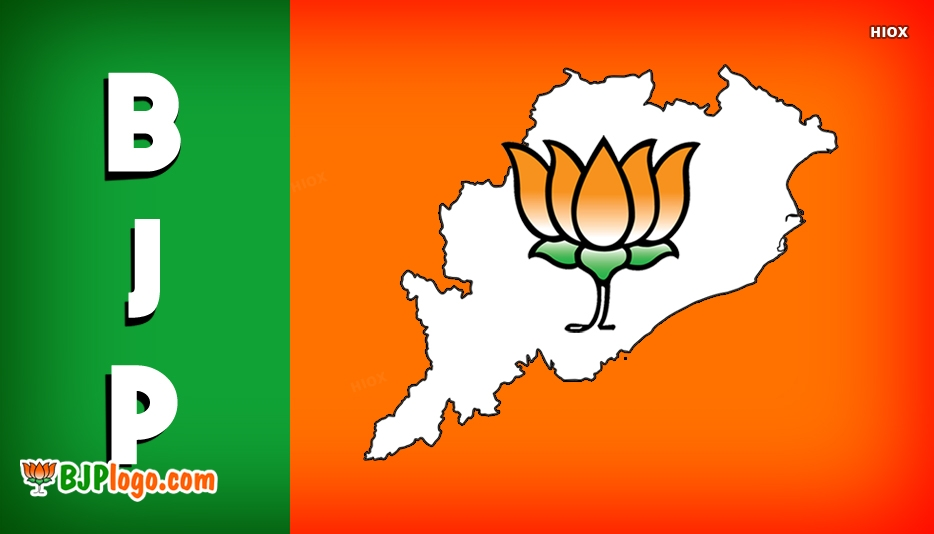 BJP Logo State Maps