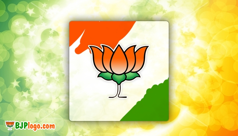 BJP Logo Painting Images, Cards