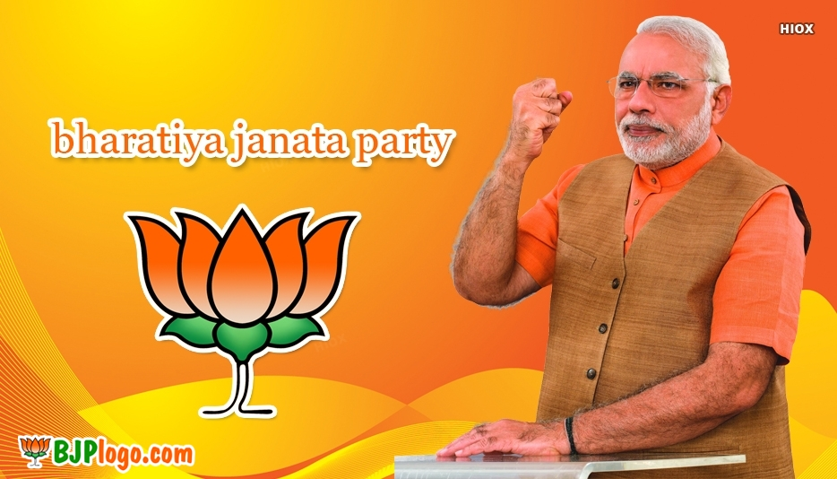 Bjp Logo Stickers Images, Photos
