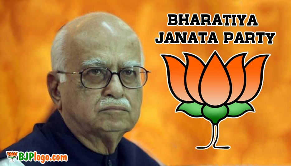 Bjp Logo with Advani @ Bjplogo.com