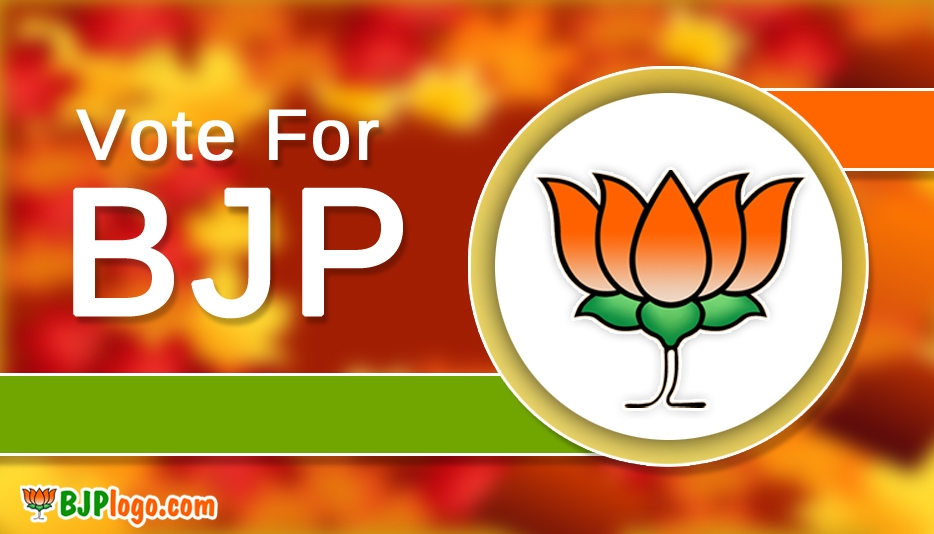 Bjp Logo with Slogan @ Bjplogo.com