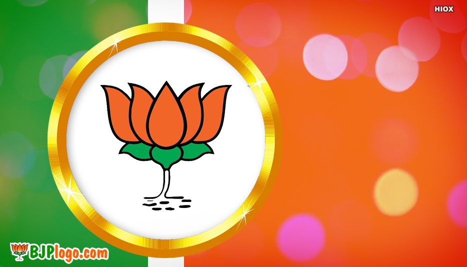 Bjp Lotus Flower -  Bjp Logo Lotus