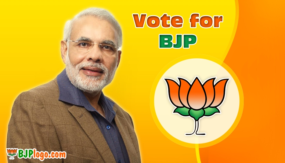 BJP Symbol with Narendra Modi @ Bjplogo.com