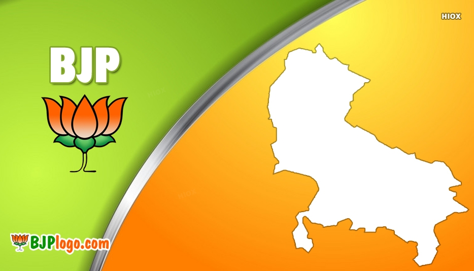 Bjp Logo With Maps Images, Photos