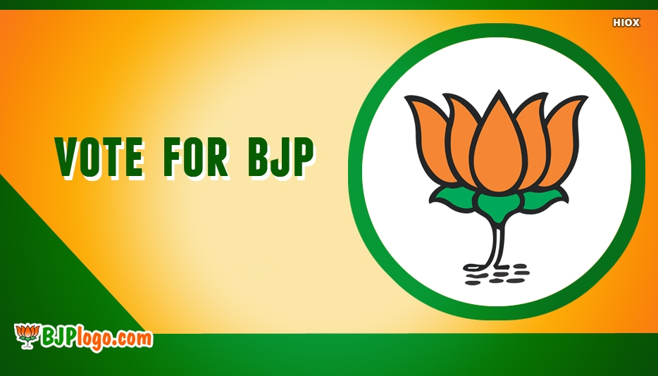 Png Image Of Vote For Bjp