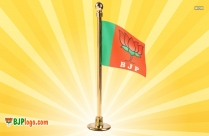 bjp logo flags pictures