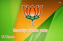 Bjp Bike Rally Logo