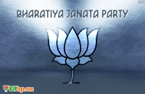 Bjp Logo In White Background