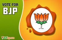 Bharatiya Janata Party Logo With Narendra Modi