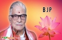 Bjp Logo With Murli Manohar Joshi