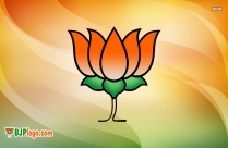 Bjp Logo Black Background