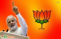 Bjp Logo With Modi