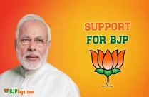 Support For BJP