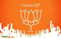 Vote For BJP Logo