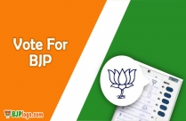 Bjp Symbol Black And White